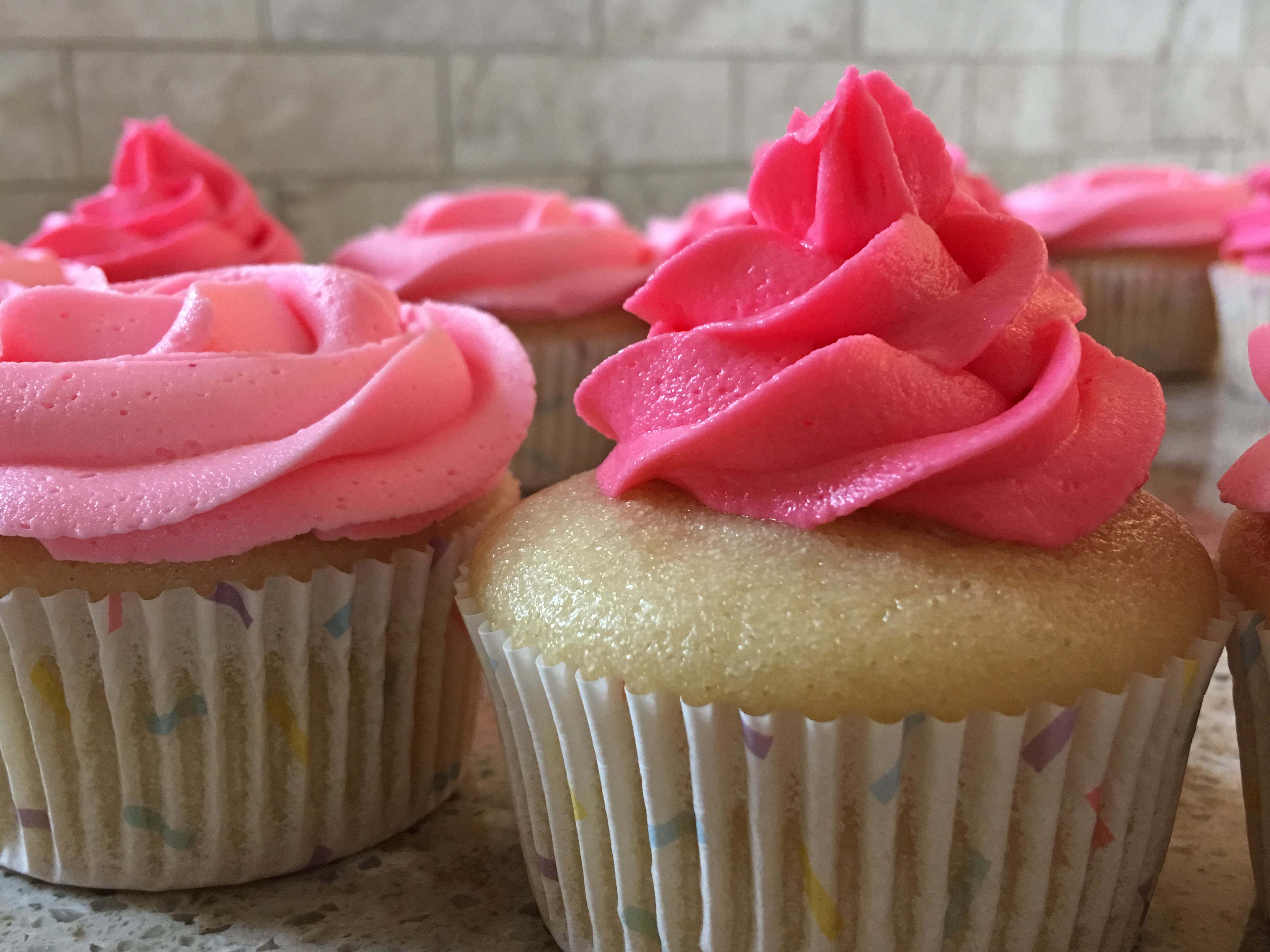 Vanilla Cupcakes Buttercream Icing The Well Dressed Kitchen